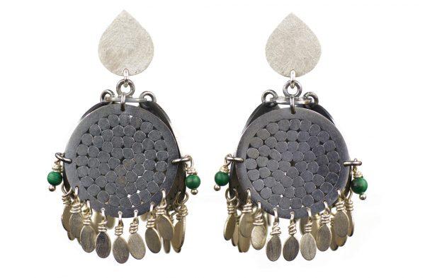 Gemma Grace - 4x5 earrings